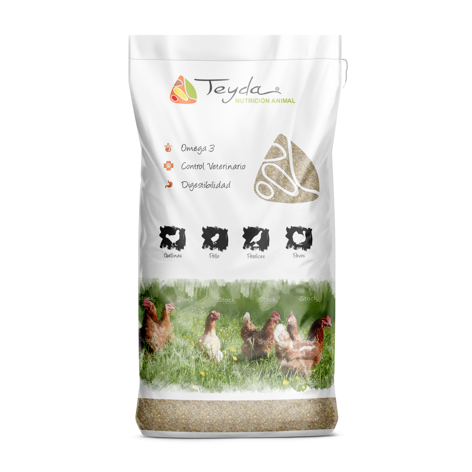 Nuevo diseño para nuestros amigos de Teyda, Nutición Animal