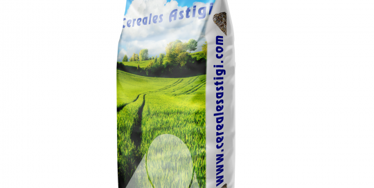 Cereales Astigi saco BOPP y rafia laminada