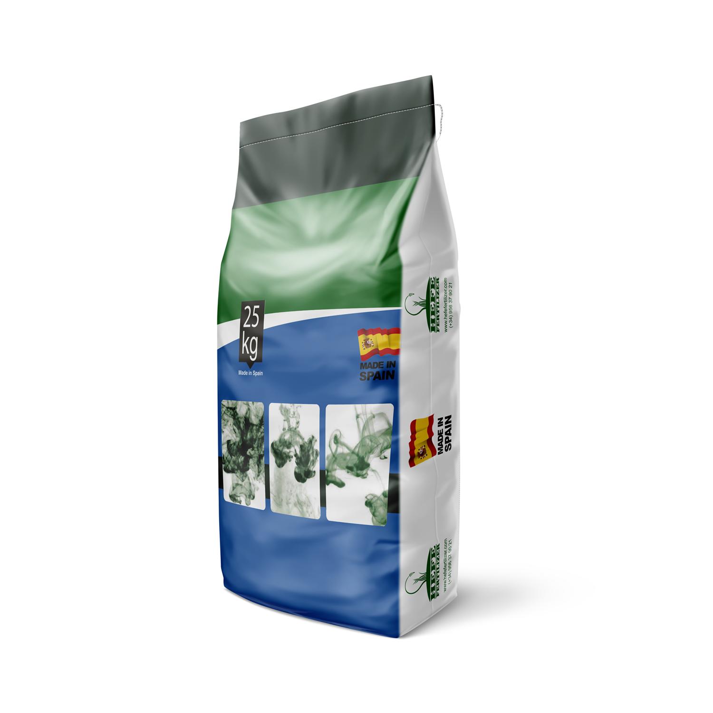 HEFE Fertilizer saco con base rectangular diseñado e importado por TuSaco. Sacos de abono y fertilizante